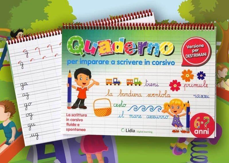 lidia-digital-quaderni-imparare-scrivere-corsivo