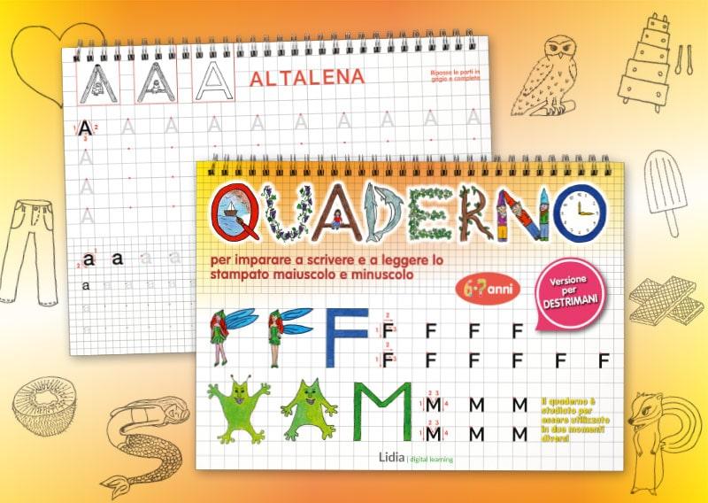 Quaderno per il maiuscolo 800x568